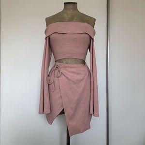 Sabo Skirt Mini Off Shoulder Dress